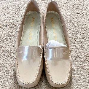 NWT Anne Klein Patent Leather Loafers